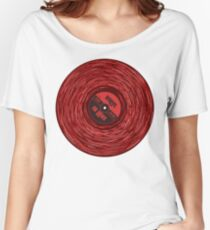 Red Vinyl Love Women's Relaxed Fit T-Shirt