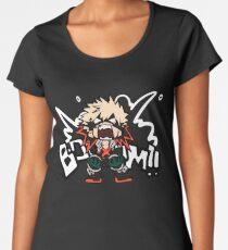 Mein Held Academia: Katsuki Bakugo - BOOOM !! Frauen Premium T-Shirts