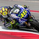 Valentino Rossi at Circuit Of The Americas 2014 by corsefoto
