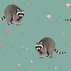Little Raccoon Pattern by Sophie Corrigan