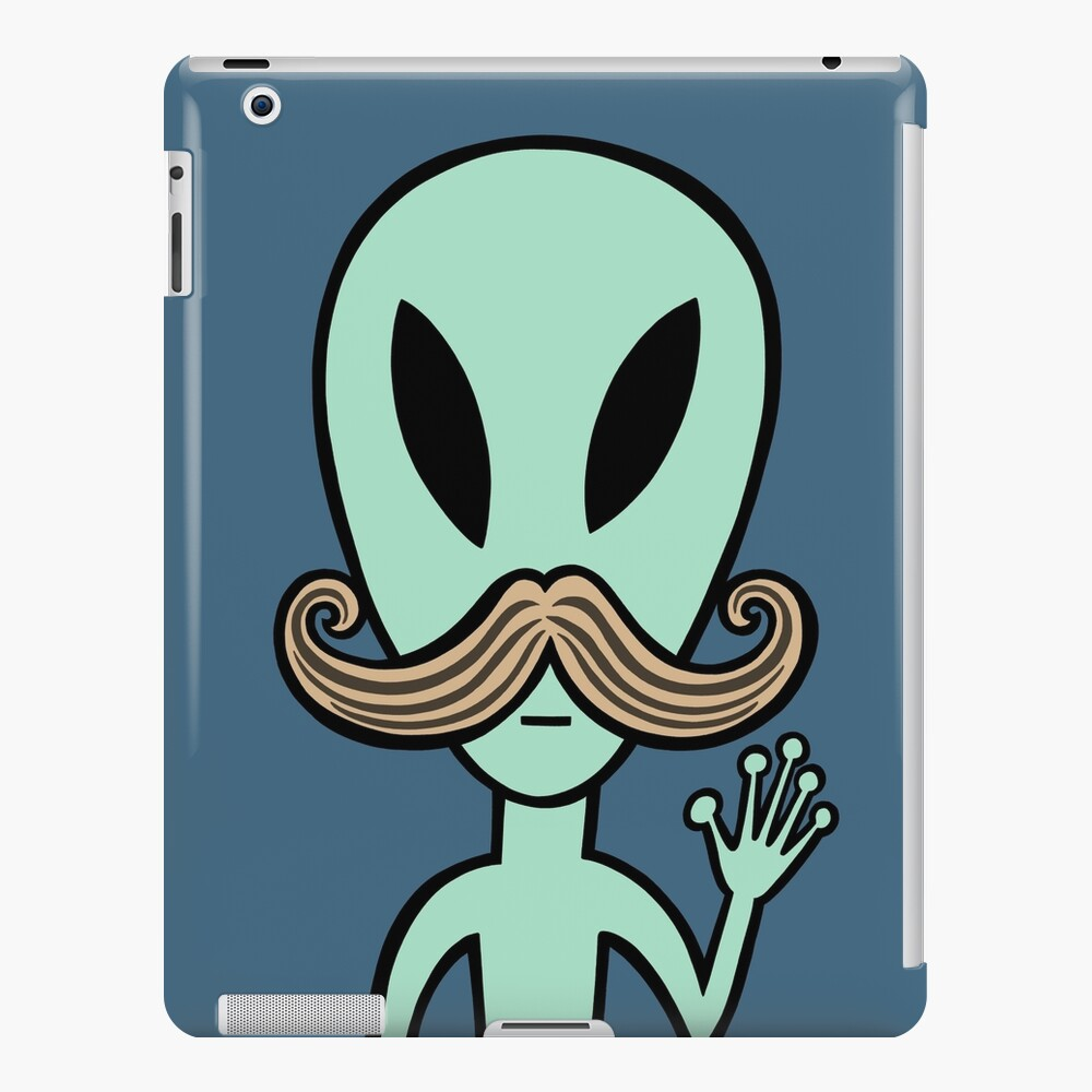 Hello to all my alien friends iPad Case & Skin