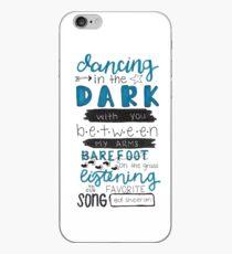 Perfect by Ed Sheeran Lyric Art iPhone Case