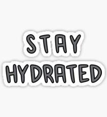 stay hydrated Sticker