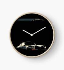 Minimalist Porsche Clock
