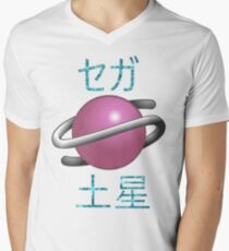 Sega Saturn Men's V-Neck T-Shirt