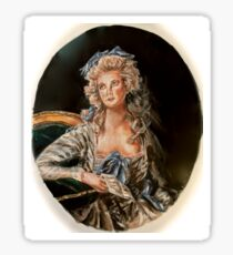 Marie Antoinette Portrait Sticker