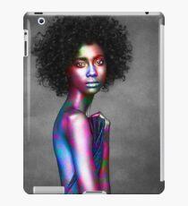 Cheveux Noir iPad Case/Skin