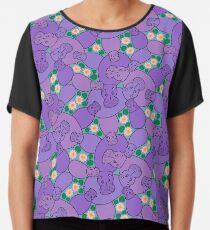 Hippo Pond - Purple Chiffon Top