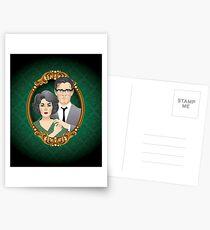 Postales George y Martha