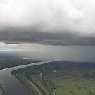 Rain over Grafton by Hummingbyrd