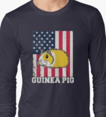 American Gunea Pig Long Sleeve T-Shirt