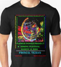 FLOWER POWER PROJECT  Unisex T-Shirt