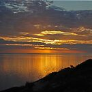 Sunset Over Shark Bay, Denham, Western Australia by Adrian Paul