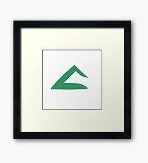 Ash Ketchum Kanto Emblem Framed Print