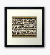 Bayeux Tapestry Framed Print