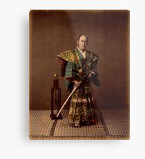 Samurai, 1890s, Japan Metal Print