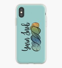 Yarn Snob iPhone Case