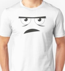 ANGRY FACE - Funny Angry Comic Face Unisex T-Shirt