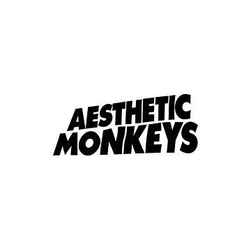 """AESTHETIC MONKEYS"" DESIGN by stnxv"