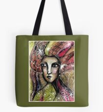 She thinks she was a bird in a past life... Tote Bag