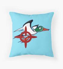 Duck Hunt - Duck James Throw Pillow