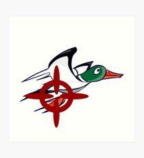Duck Hunt - Duck James Art Print