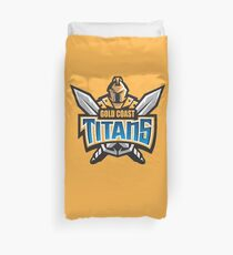 Gold Coast Titans Duvet Cover