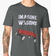 Imagine Wagons Men's Premium T-Shirt