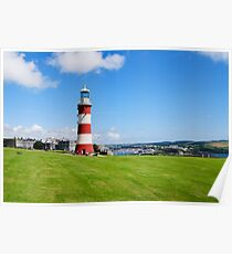 Smeaton's Tower: Lighthouse on Plymouth Hoe Poster