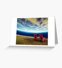 Natural Space Greeting Card