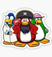 Club penguin mascots  Sticker