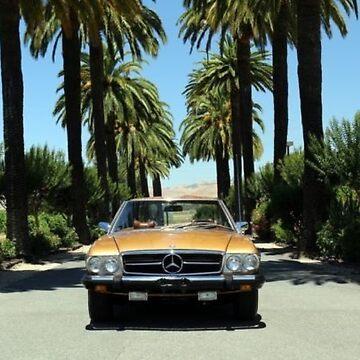 1974 Mercedes Benz SL Class Gold Brown by mbz-tech