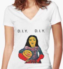 Destiny Women's Fitted V-Neck T-Shirt
