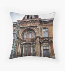 The Hotel's Waiting Throw Pillow