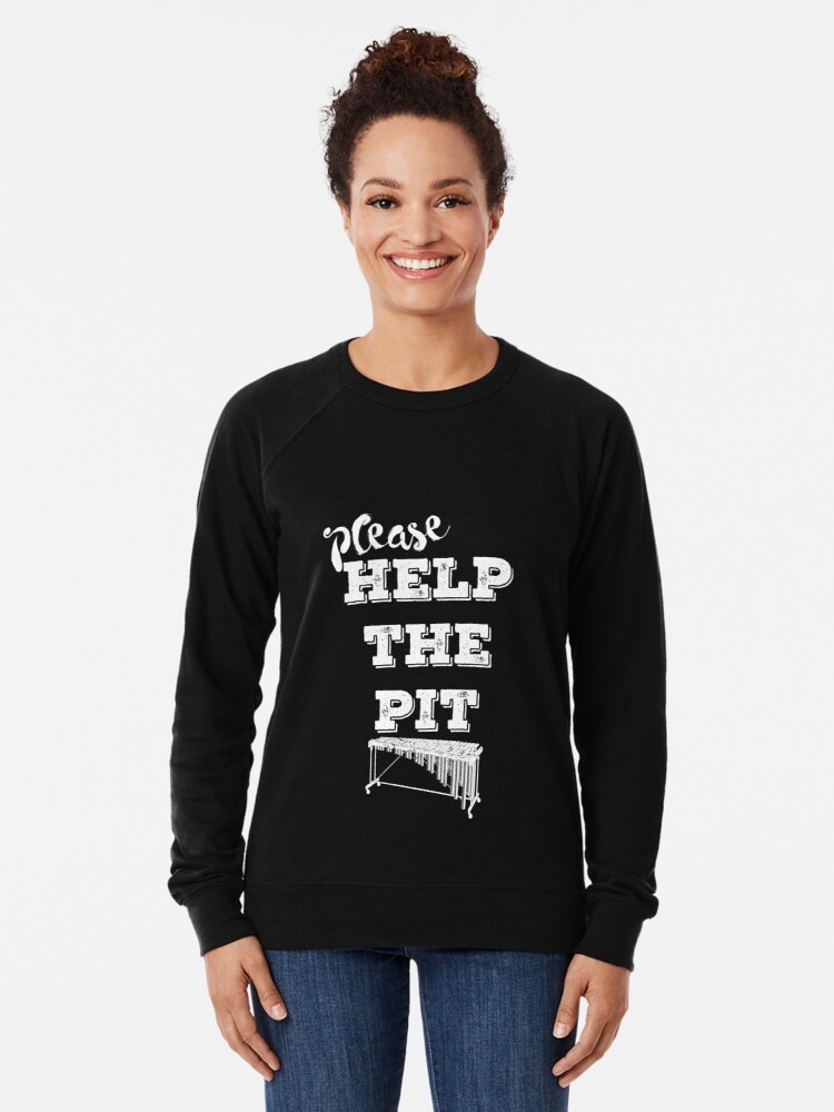 Alternative Ansicht von Bitte hilf der Grube Leichter Pullover