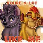 Kion & Jasiri: You're a Lot Like Me by Unicornarama