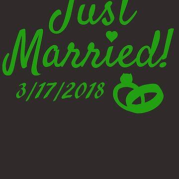 March wedding 2018 shirt March 2018 wedding shirt by AlaskaCC