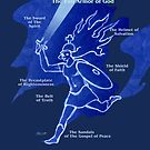 Full Armor of God - Warrior Girl 5 by Patricia Howitt