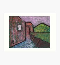 Old Watermill Art Print