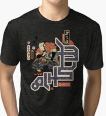 TURNTABLE SAMURAI Tri-blend T-Shirt
