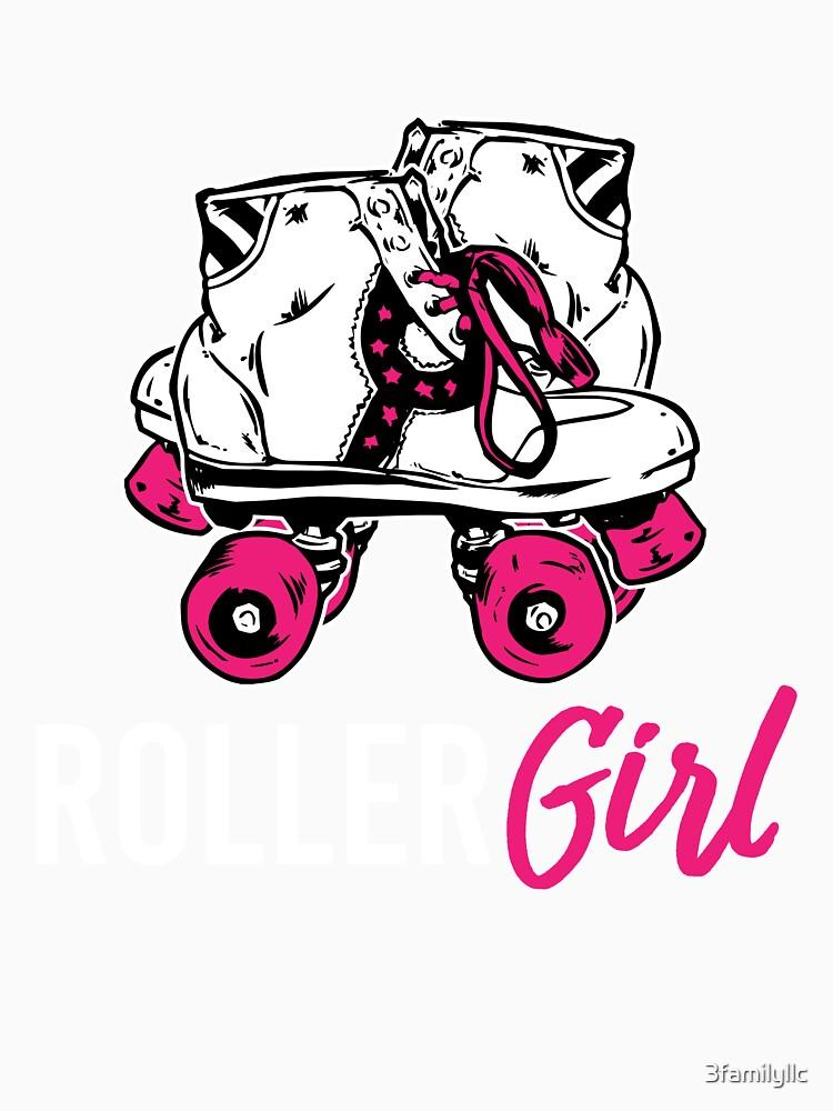 Roller Mädchen T-shirt von 3familyllc
