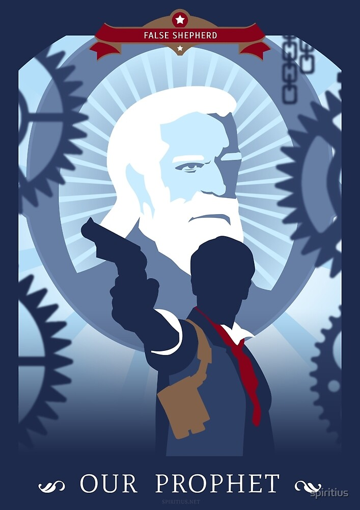 Bioshock Infinite: Booker DeWitt by spiritius