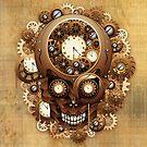 Skull Steampunk Vintage Style by BluedarkArt