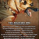 The Military Dog by iancoate