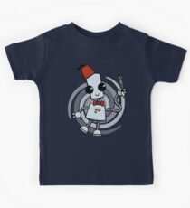 Ned the Time Traveller (11) Kids Tee