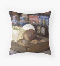 Box of Vegetables, Island of Ireland. Throw Pillow
