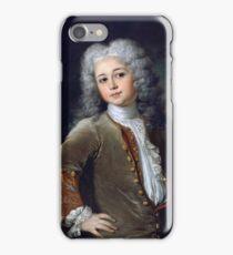 Largilliere, Nicolas de -  1700, 72,5 x 61 cm iPhone Case/Skin