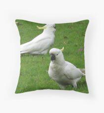 Cocky Double Throw Pillow
