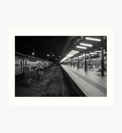 Central Station, Sydney. Art Print