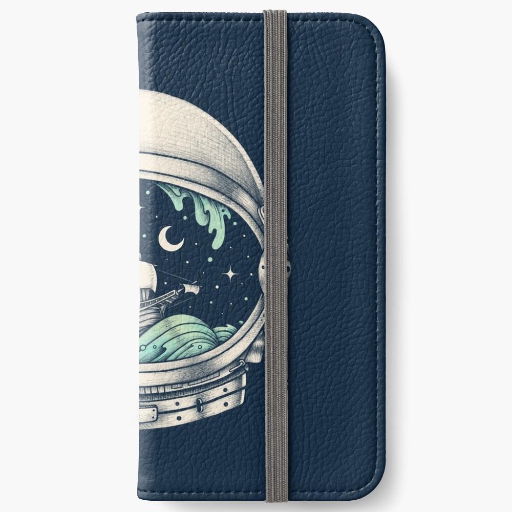 Spaceship iPhone Wallet